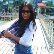 foulard azul