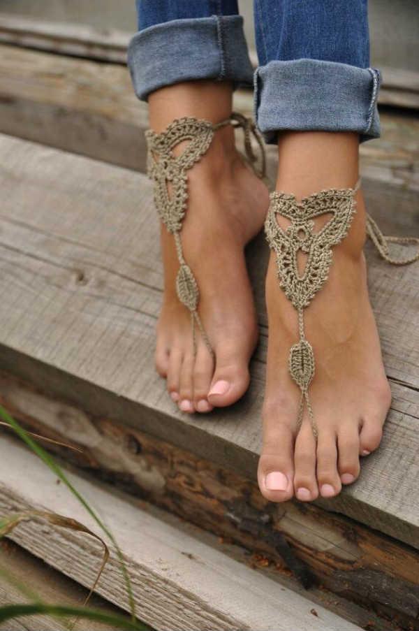 pulseras de pie