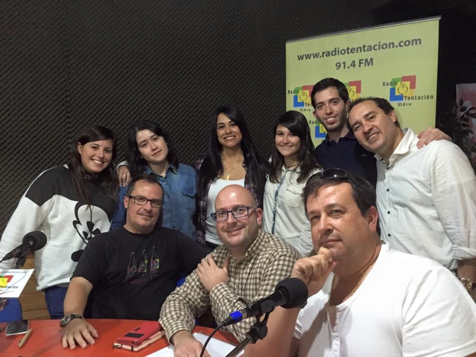 Cristina Pizarro en Radio Tentación