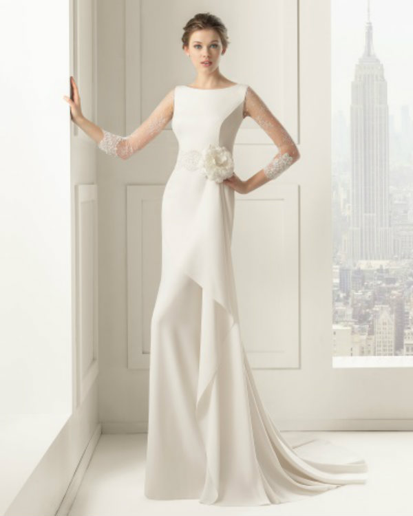 23c08fde1 Vestidos de novia  ¿Cuál es el escote que mejor te sienta ...