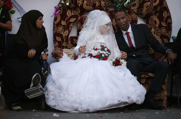 novia palestina