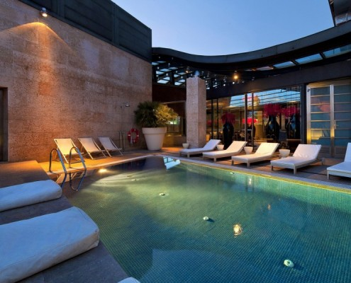 terraza hotel urban madrid