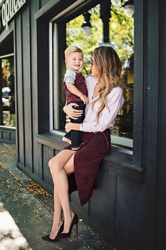 ser una mamá con estilo